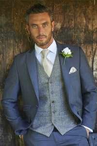 Tweed Brown Royal Waistcoat 238