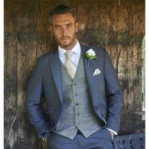 Wedding Tweed Brown Royal Waistcoat 236