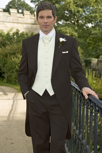 Brown Tail Wedding Suit